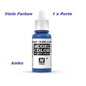 Vallejo 055 70.839 Ultramarin Blau Ultramarine 17ml 14,71€/100ml - Koblenz, Deutschland - Vallejo 055 70.839 Ultramarin Blau Ultramarine 17ml 14,71€/100ml - Koblenz, Deutschland
