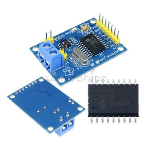 Details about MCP2515 TJA1050 5V Receiver SPI Board CAN Bus Module For  Arduino Raspberry Pi