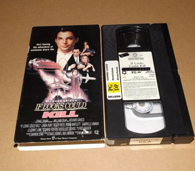If Looks Could Kill vhs video Richard Grieco Gabrielle Anwar