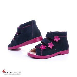 Orthopedic Leather Sandals for Kids Boys Girls with Ankle Support