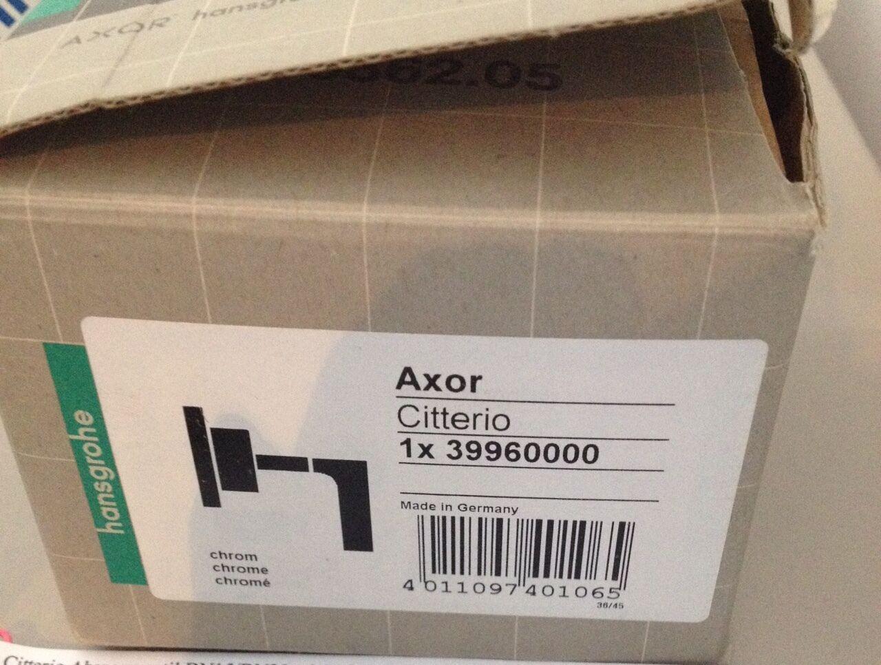 Axor Citterio, Hansgrohe, Absperrventil, mit Hebelgriff, chrom, 39960000 | Tadellos  | Preiszugeständnisse  | New Product 2019  | ein guter Ruf in der Welt