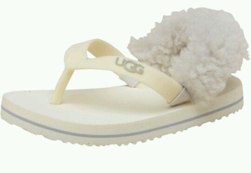 chanclas Yia S 6 Sandalias marfil Azúcar bebés para nube Ugg 12m Bnib Ugg Za5Xwq