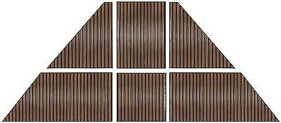 7mm Polycarbonate Roof Panel kit for Gazebo -10x12