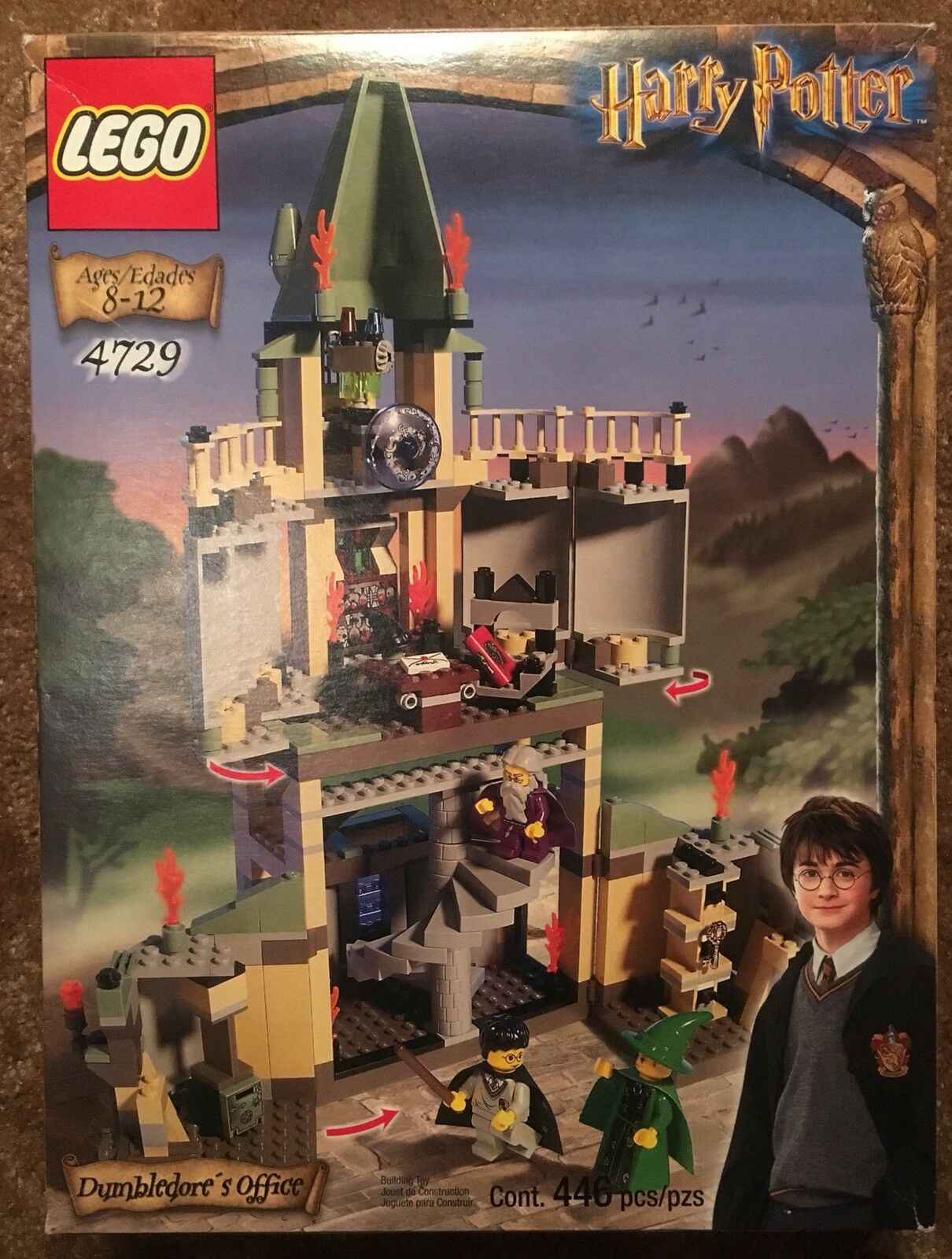 LEGO Harry Potter Dumbledore's Office (4729) COMPLETE W/ BOX & DIRECTIONS