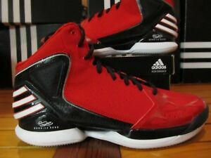 555293d7b10a25 NEW Adidas Rose 773 Red Black White G56265 9 8 Chicago Bulls D 3 ...