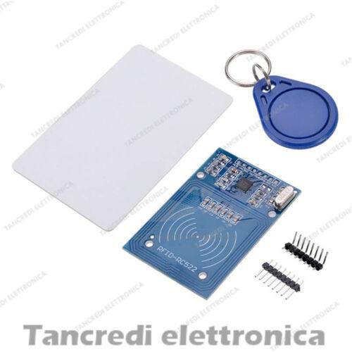 Lettore RFID portachiavi card RC522 arduino IC Reader lettore di prossimità