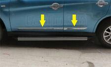 Chrome door Side body Molding trim Mitsubishi ASX RVR Outlander sport 2010-2015