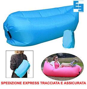 Materassino gonfiabile aria air sofa sacco letto divano - Divano gonfiabile aria ...