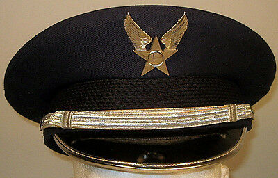 9f55c2ab49a USAF US Air Force Enlisted Honor Guard Dress Hat Cap 7 3 8 or 59