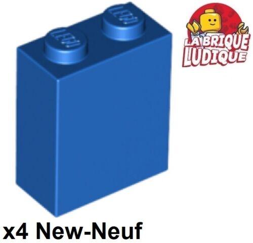 Lego 4x Lego Brick 1x2x2 Inside Stud Halterung Blau/Blau 3245c Neu LEGO Bausteine & Bauzubehör