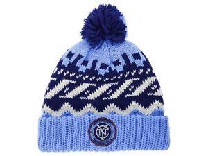 ec454d6917eb9 New York City FC adidas MLS Soccer Team Sweater Pom NYC FC Winter ...