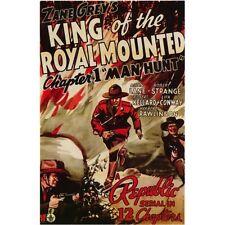 King of the Royal Mounted - Cliffhanger Serial DVD Allan Lane Robert Strange