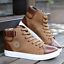 Fashion-Men-039-s-Oxfords-Casual-High-Top-Shoes-Leather-Shoes-Canvas-Sneakers-Boots thumbnail 9