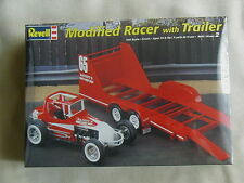 FACTORY SEALED Revell Modified Racer with Trailer #85-4150