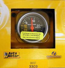 Auto Meter 3303 Sport Comp Vacuum Boost Mechanical Gauge 2 1/16 30 In.Hg/ 30 PSI