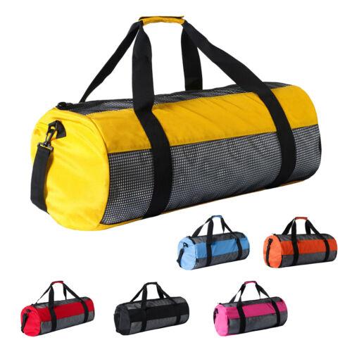 Dive Gear Bag Heavy Duty Mesh Duffle Bag for Diving Scuba Swim Surf Sports