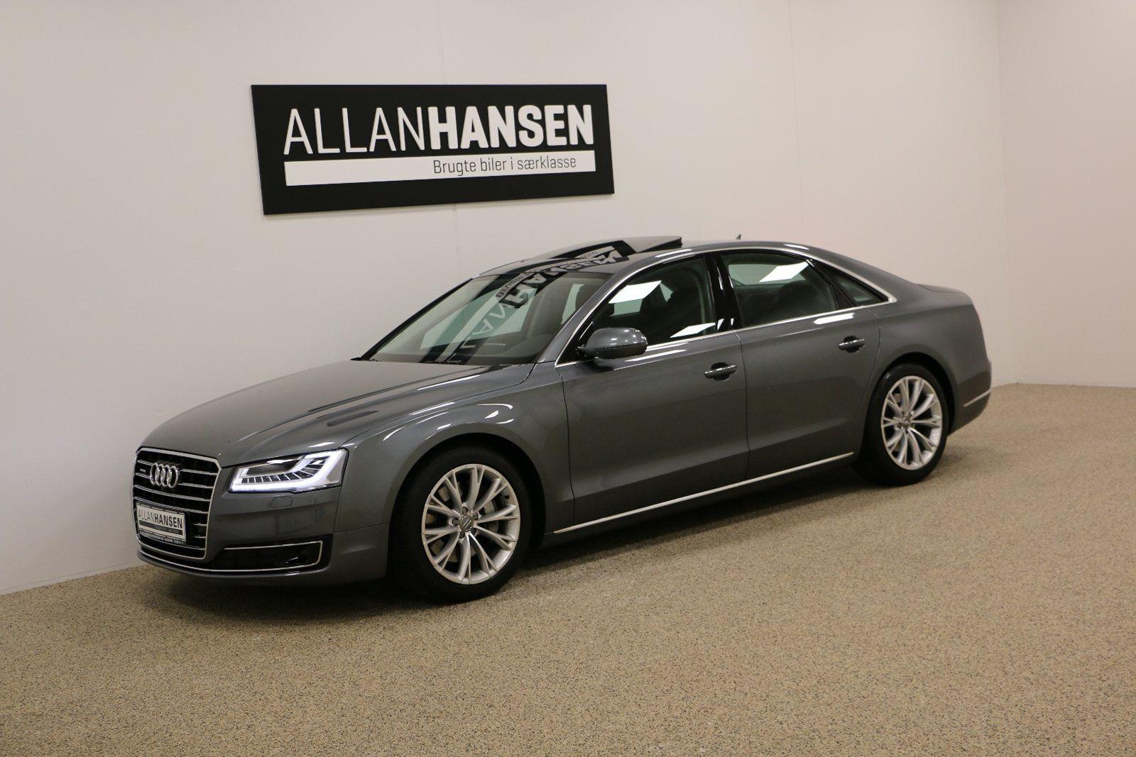 Audi A8 3,0 TDi 258 quattro Tiptr. 4d - 699.900 kr.