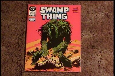 Swamp Thing # 63 Comic Book Vf/nm Soft And Antislippery Collectibles Comics