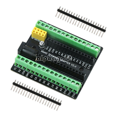 1X Nano V3.0 AVR DC NRF2401 Screw Terminal Expansion Adapter Board For Arduino