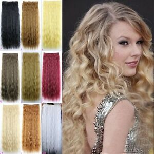 Gewellt-Haarverlaengerung-ca-65cm-Clip-In-Extensions-Haarteil-Haarverdichtung-YMJ