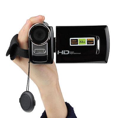 HD 720P 12MP Digital Video Camcorder Camera DV 3.0 TFT LCD 8x ZOOM BK Salable