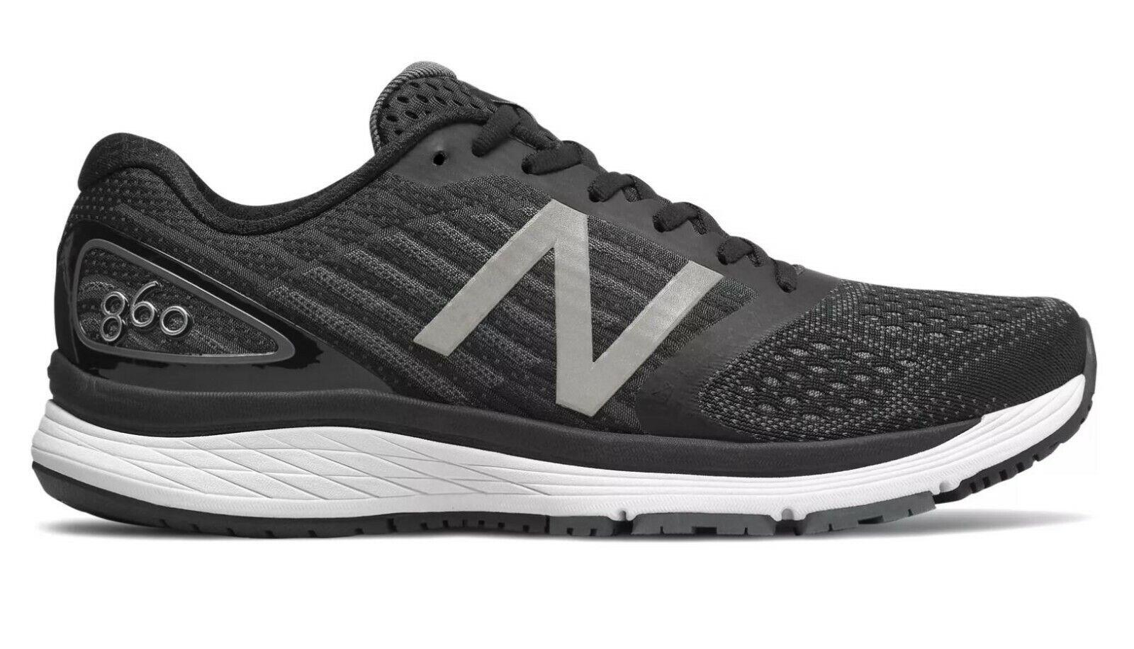 AUTHENTIC    New Balance 860 Mens Running schuhe (2E) (M860BK9)