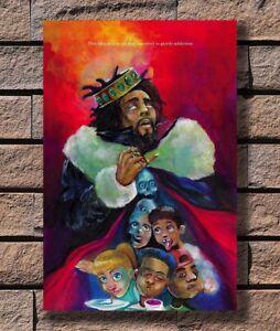 P5792 Art J Cole K.O.D Album 2018 Music CD Cover KOD Poster Hot Gift 14x21 24x36