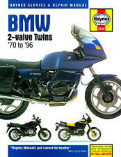 Bmw R45-R100 2-valve Twins 1970-1996 Haynes Manual 0249 Nuevo