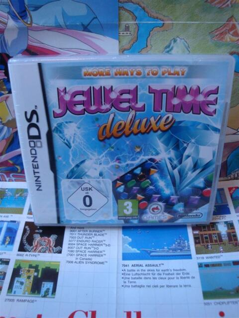 Nintendo DS:Jewel Time Deluxe [TOP & 1ERE EDITION] NEUF & BLISTER - Fr