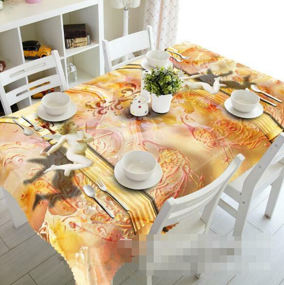 3D Angels 54 Tablecloth Table Cover Cloth Birthday Party Event AJ WALLPAPER AU