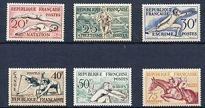 PROMO-STAMP-TIMBRE-FRANCE-NEUF-SERIE-N-960-965-JO-HELSINKI-COTE-90