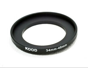 Stepping Ring 34mm - 46mm Step Up Ring 34-46mm 34mm to 46mm Ring