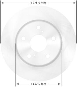 Disc-Brake-Rotor-Premium-Brake-Rotor-Front-Bendix-PRT5886