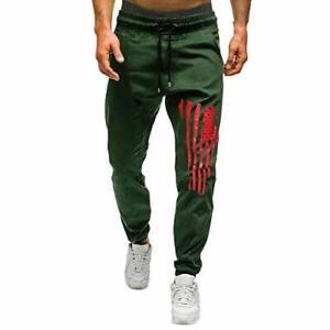 Homme Pantalon Jogging Pants Longs Pants Bas de Survêtement Sweat Pants Sarouel