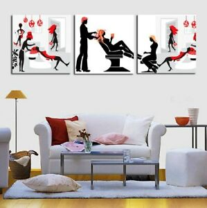 Poster Hair Care Spa Painting Wall Art