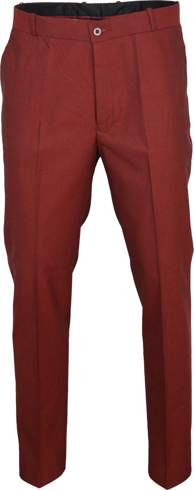 Relco Mens Stay Press Burgundy Tonic Trousers Two Tone Sta Prest Retro Mod Skin