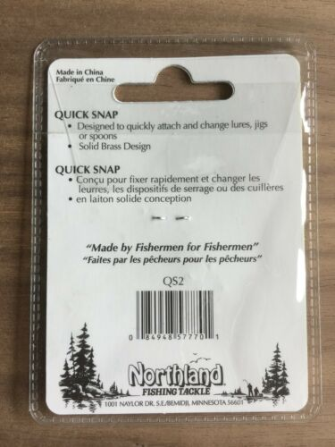 Bronze Northland FISHING TACKLE-Quick Snap-taille #2