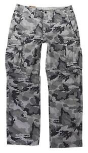 NEW-NWT-LEVI-039-S-STRAUSS-MEN-039-S-ORIGINAL-RELAXED-FIT-CARGO-I-PANTS-GRAY-124620040