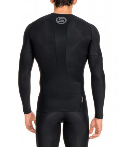 Skins Compression A400 Mens Long Sleeve Top FREE AUS DELIVERYBUY NOW!