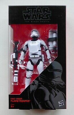 Star Wars Black Series 6 inch First Order Flametrooper MISB