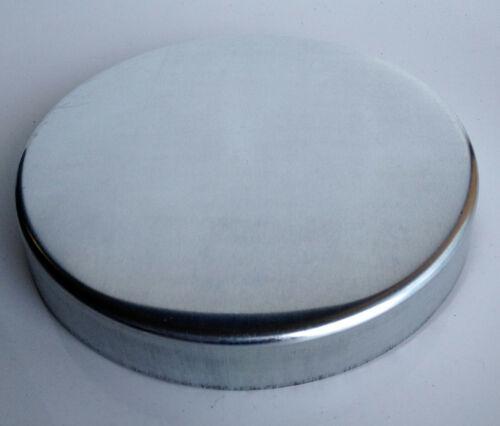 4x Zink Pfostenkappe für Rundpfosten Abschlusskappe Zierkappe Zaunkappe