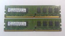 Samsung PC2-6400 (DDR2-800) 2GB UDIMM 800 MHz PC2-6400 DDR2 SDRAM Memory (M378T5663EH3-CF7)
