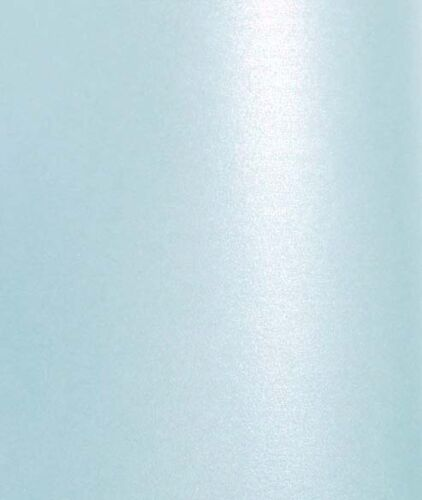 double sided 10 A4 Baby Blue Pearl Shimmer Paper 100gsm