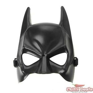 New-Batman-Dark-Knight-Costume-Party-Mask-One-Size-Fits-All-Hard-Plastic-Strap