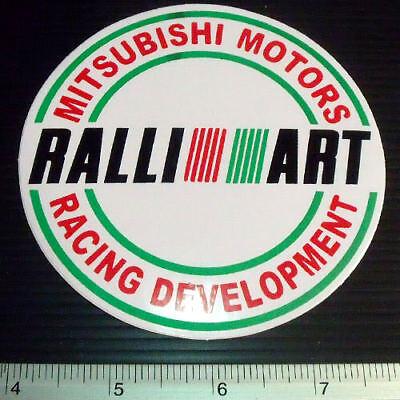 "Ralliart Racing Car Sticker Reflective Decal 1.5x6.5/"" B"