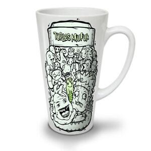Psychedelic NEW White Tea Coffee Latte Mug 12 17 oz   Wellcoda