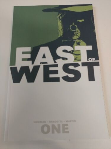 Alternative comic lot East of West one GN SC VF+ Bagged