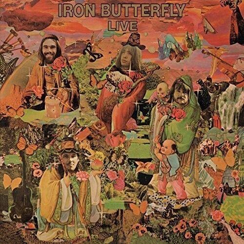 Iron Butterfly - Iron Butterfly Live [New Vinyl LP] Ltd Ed, 180 Gram, Anniversar