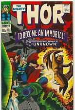 Thor 136 Marvel Silver Age 1967 Intro Sif  (VF-)