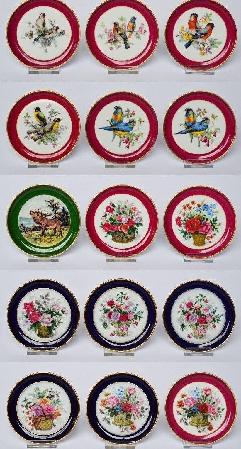 AK Kaiser Porzellan 15 Untersetzer Tiere Vögel Blaumen Blaumenbouquet Dm 10 cm     | Spielzeug mit kindlichen Herzen herstellen